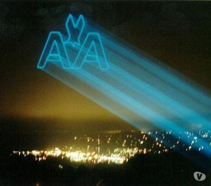 Photos for High Power Sky Laser Show Rental and Advanced Sky Logos