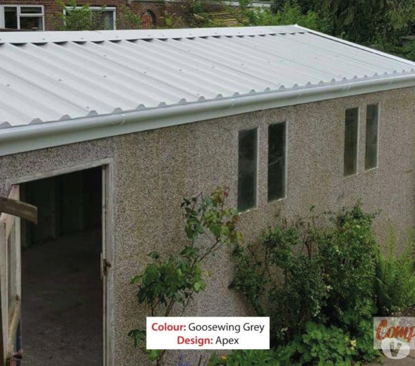 Find a tradesman Derbyshire Chesterfield - Photos for Apex Garage Roof Replaced £1,395 Which? Trusted Trader