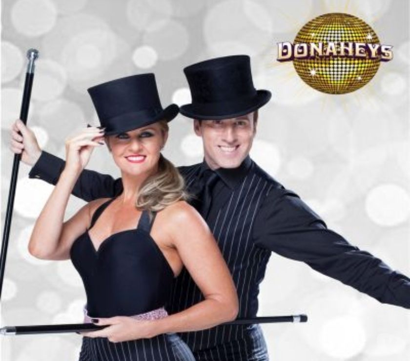 Exhibitions Blaenau Gwent Newport - Photos for An Evening with Strictly's Anton Du Beke and Erin Boag
