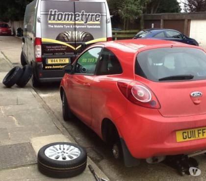 Photos for New tyres fitted at your home, mobile service.