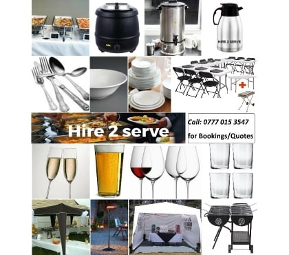Photos for Party hire. Catering equipment hire. Event rental in Reading