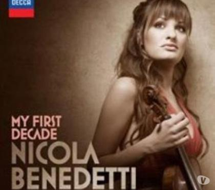 Photos for Nicola Benedetti Music CD MY First Decade