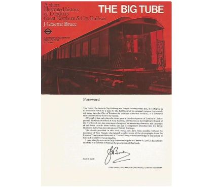 Photos for LONDON TRANSPORT BOOK - THE BIG TUBE
