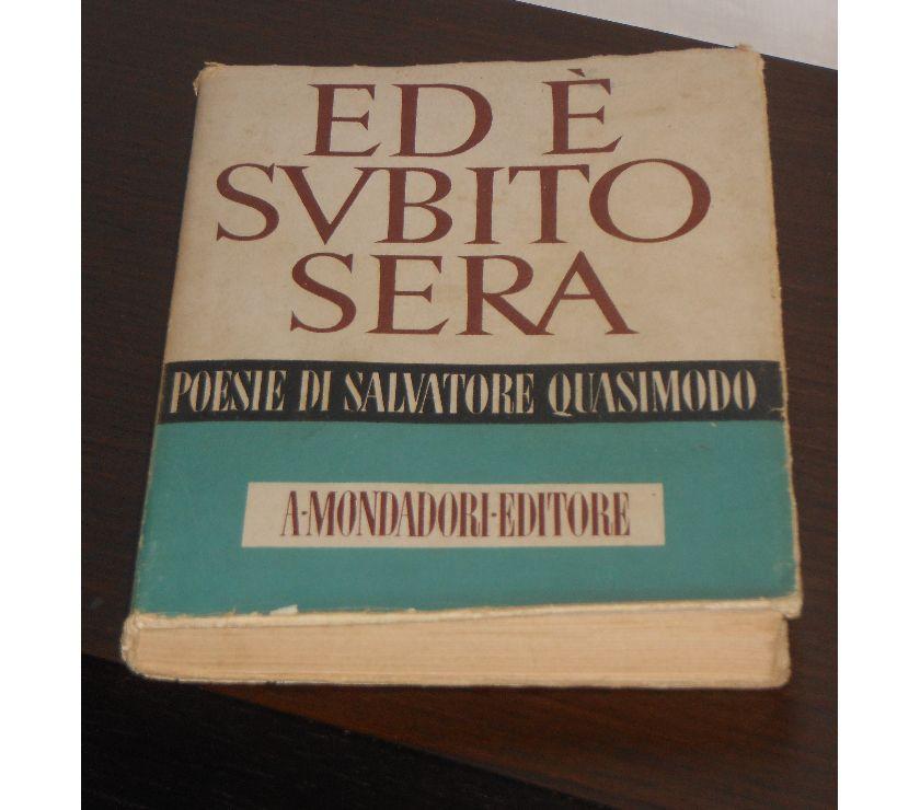 Foto di Vivastreet.it ED E' SUBITO SERA, SALVATORE QUASIMODO, 1943.