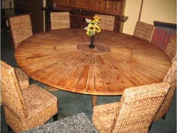 Tavoli rotondi da 150 e 220cm in vendita gallarate for Tavoli usati