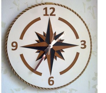 Foto di Vivastreet.it Orologio da muro raffigurante Rosa dei Venti