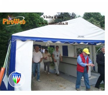 Foto di Vivastreet.it Tendoni 5 x 4 in Pvc Ignifugo