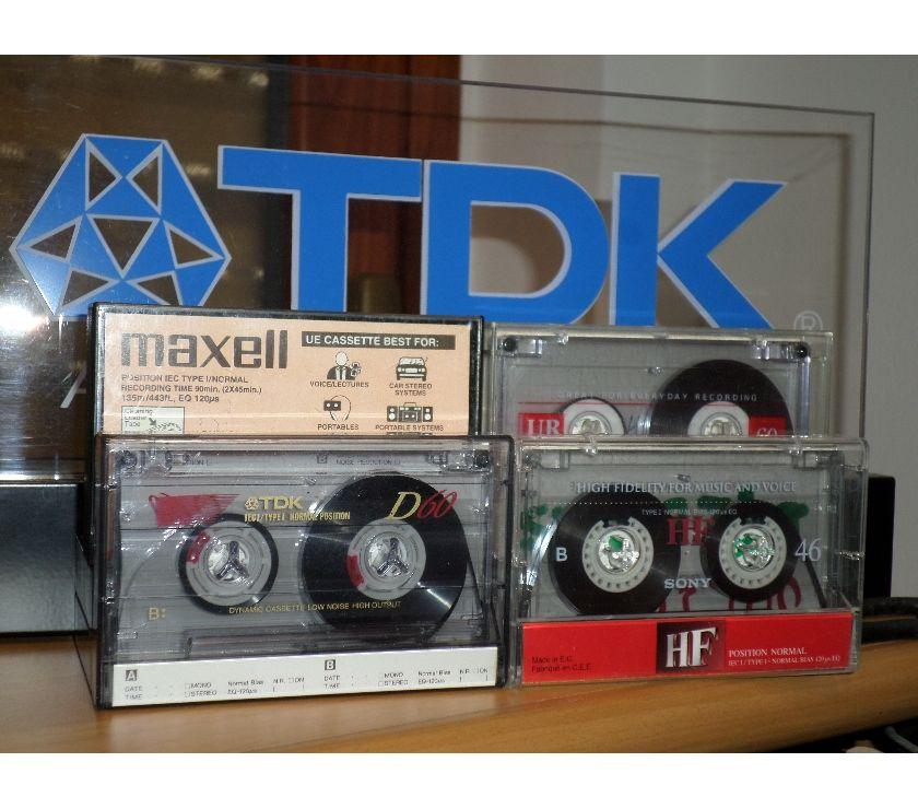 Foto di Vivastreet.it LOTTO STOCK 8 x Cassette,Tape,MC,K7 - Maxell, Sony,TDK,Basf