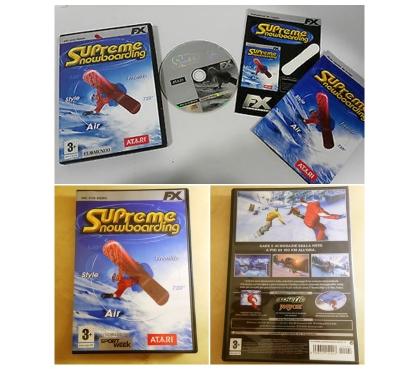 Foto di Vivastreet.it Supreme Snowboarding, ATARI, PC CD ROM, 3+,EDIZIONE ITALIANA