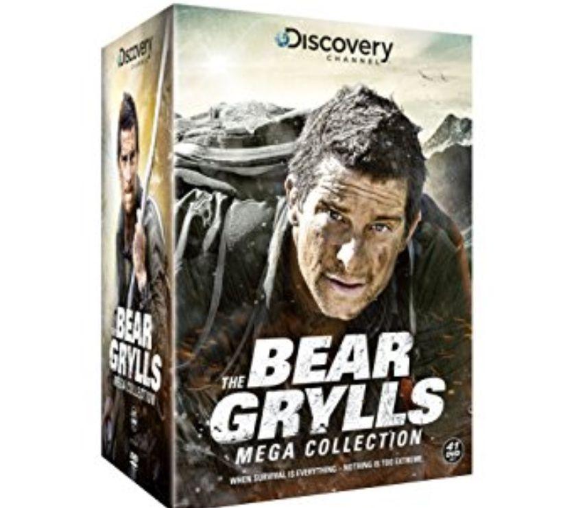 Foto di Vivastreet.it Dvd originali serie tv BEAR GRYLLS 6 stagioni