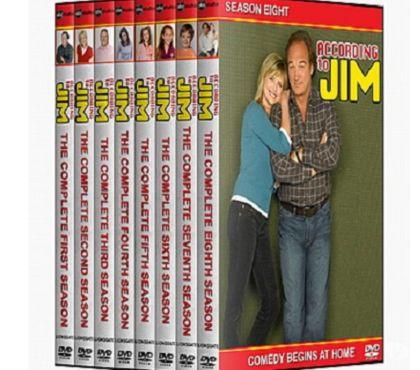 Foto di Vivastreet.it Dvd originali serie tv LA VITA SECONDO JIM 8 stagioni