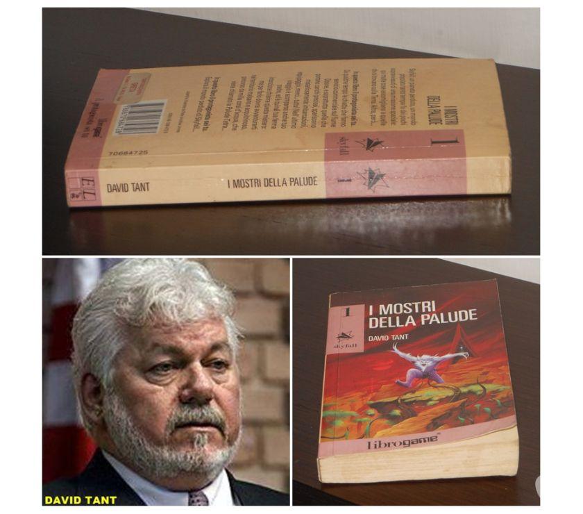 Foto di Vivastreet.it librogame 1 Skyfall, I MOSTRI DELLA PALUDE, DAVID TANT, 1992