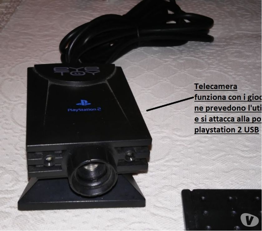 Foto di Vivastreet.it Console ps10 + Sony Playstation 2 +giochi + Accessori