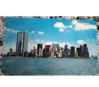 Foto di Vivastreet.it cartolina new york lower manhattan skyline