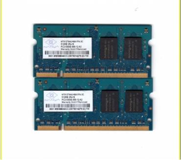 Foto di Vivastreet.it Memoria RAM Nanya 1GB 2X512MB DDR2 PC2-5300S
