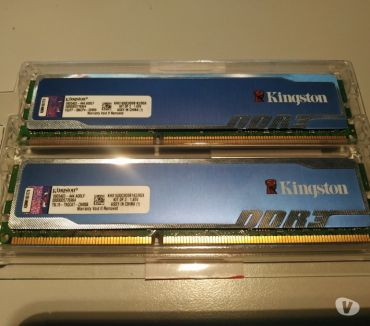 Foto di Vivastreet.it DDR3 8GB KIT(2x4GB)1600MHz YYPER blu Kingston
