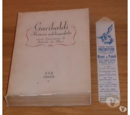 Foto di Vivastreet.it Garibaldi, Memorie autobiografiche, Iolanda de Blasi, 1944.