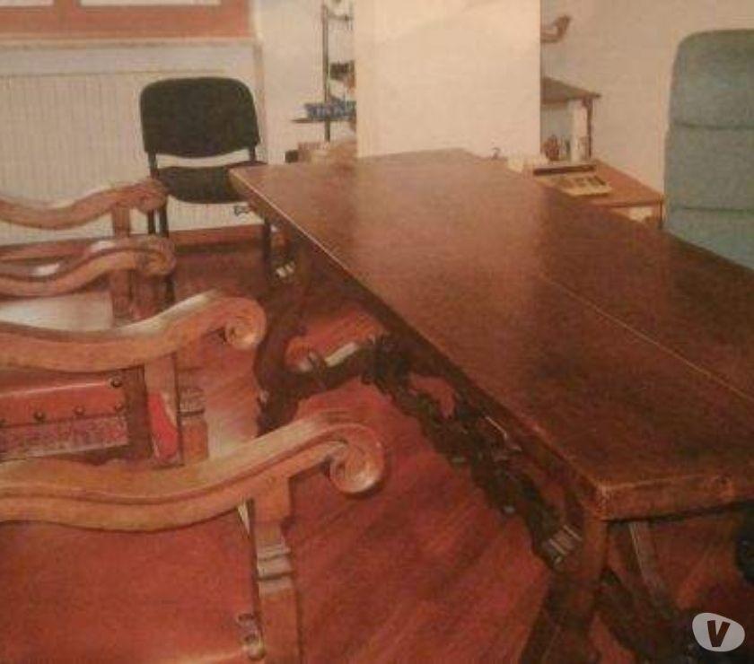 Tavolo e sedie del Cinquecento Mantovano in vendita Torino - Vendita ...