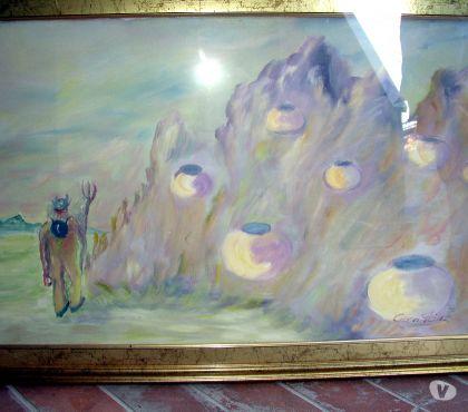 Foto di Vivastreet.it mario caragliu - olio su tela - i demoni....