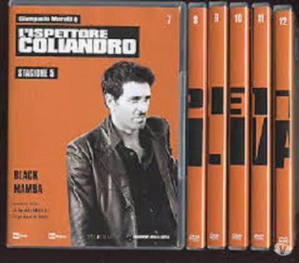 Foto di Vivastreet.it Dvd originali serie tv L'ISPETTORE COLIANDRO 7 stagioni