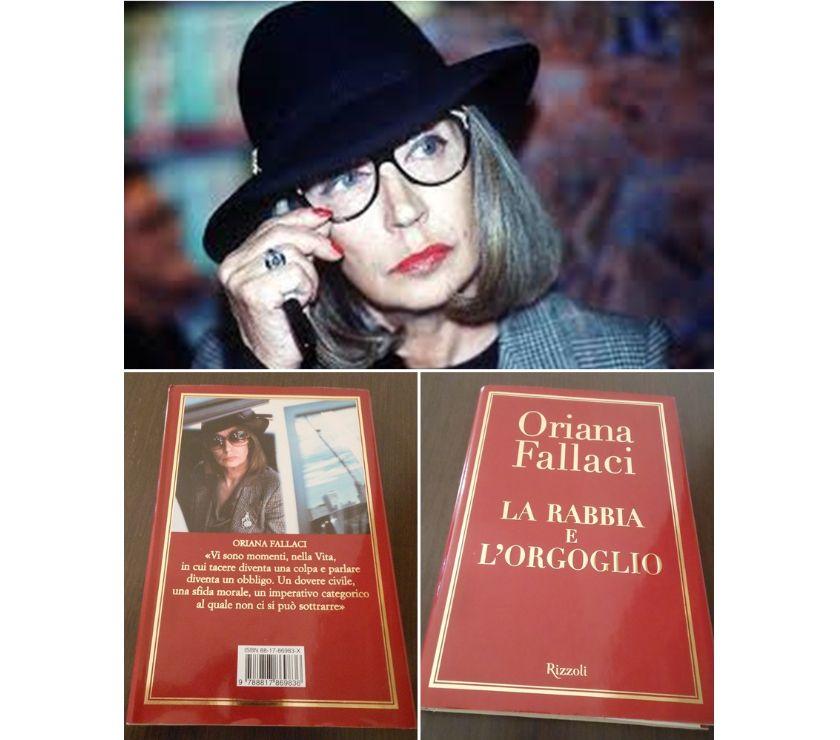 Collezionismo - Libri Roma e provincia Roma - Foto di Vivastreet.it LA RABBIA E L'ORGOGLIO, ORIANA FALLACI, Rizzoli 2001.