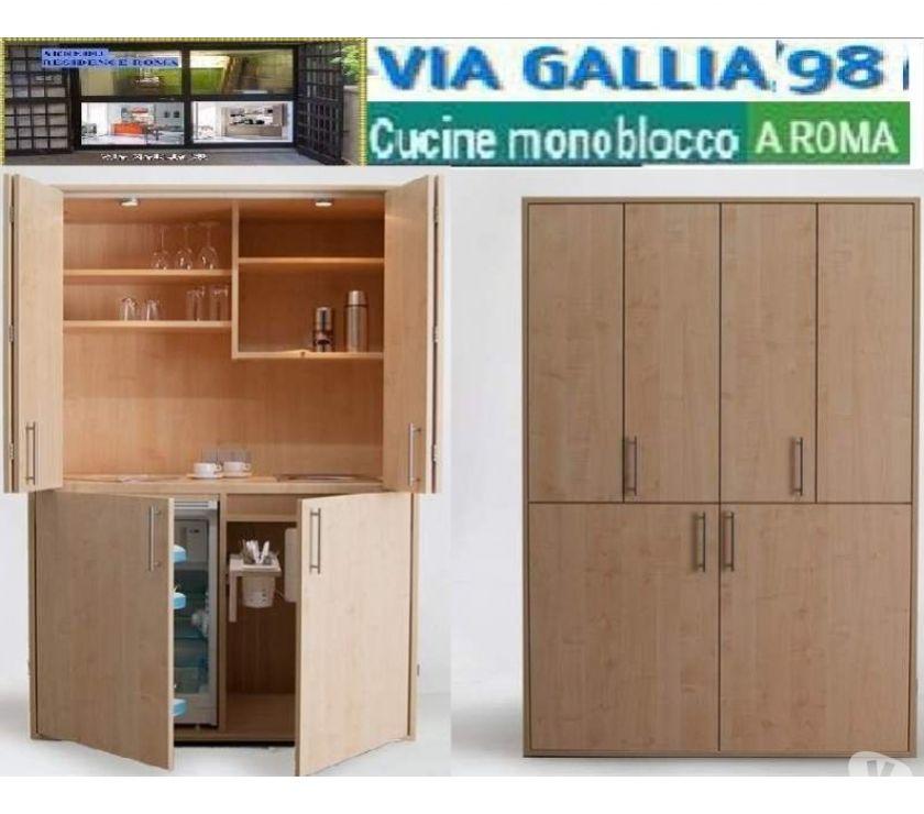 Arredo bed and breakfast a roma-Cucina monoblocco design- mi ...