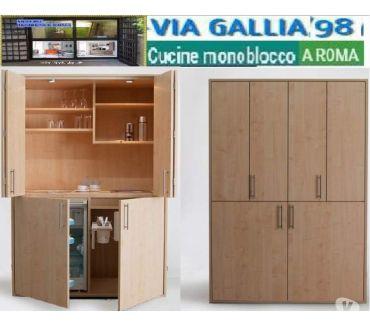 Foto di Vivastreet.it Arredo bed and breakfast a roma-Cucina monoblocco design- mi