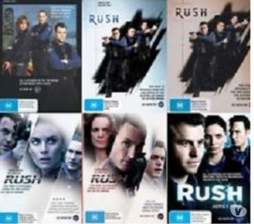 Foto di Vivastreet.it Dvd originali serie tv completa RUSH 4 stagioni