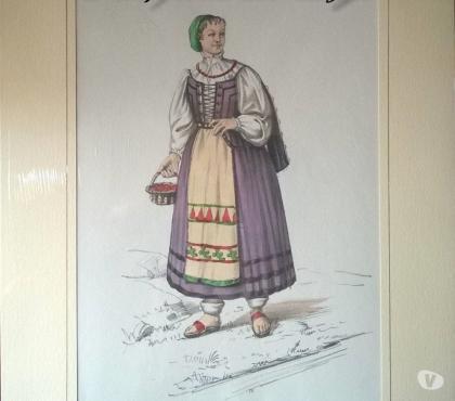 Foto di Vivastreet.it Stampe - 1958 COSTUMI POPOLARI ITALIANI – Donna di Belluno