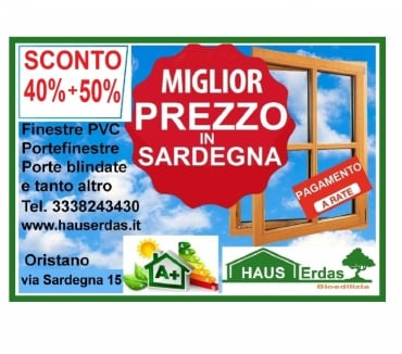 Foto di Vivastreet.it Infissi in PVC - OFFERTA 40% SCONTO