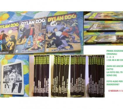 Foto di Vivastreet.it Dylan Dog 1 2 3 + lotto 40-80 PRIMA EDIZIONE ORIGINALE !!!!