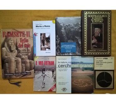 Foto di Vivastreet.it lotto 7 libri storia e misteri