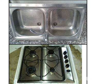 Foto di Vivastreet.it Piano cottura IGNIS + Lavello 2 vasche acciaio inox