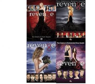 Foto di Vivastreet.it Dvd originali serie tv completa REVENGE 4 stagioni