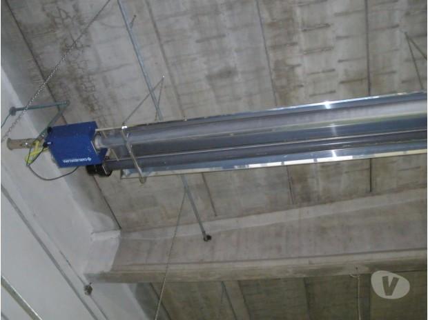 Tubi radianti per riscaldamento capannoni Soliera