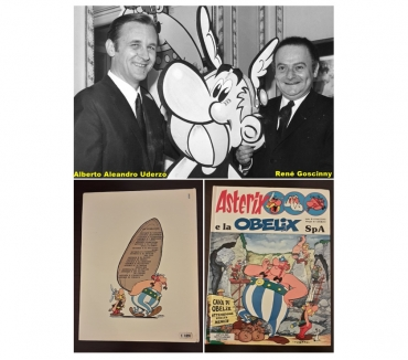 Foto di Vivastreet.it Asterix e la OBELiX SpA, GOSCINNY e UDERZO,A. MONDADORI 1978