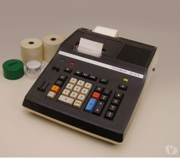 Foto di Vivastreet.it Calcolatrice elettrica TRIUMPH anni 70