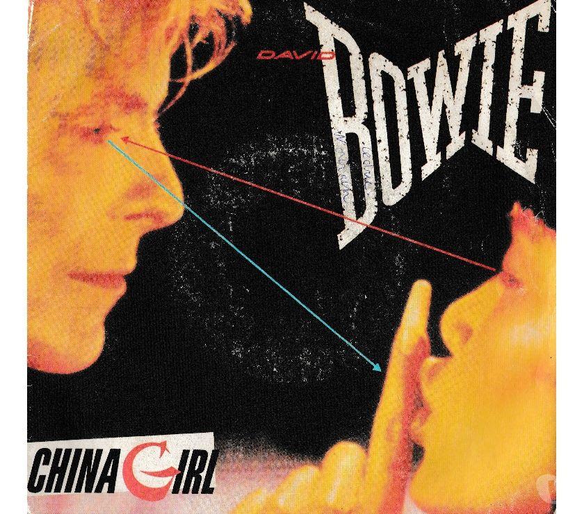 compact disc dvd e videogames Palermo e provincia Palermo - Foto di Vivastreet.it DAVID BOWIE - China Girl - Shake It - '7 45 giri 1983 EMI