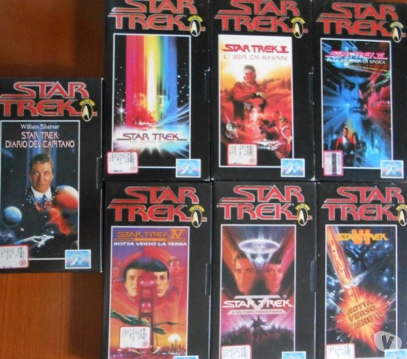 Foto di Vivastreet.it Star Trek in videocassette