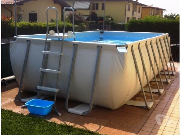 Piscina bestway 488x274x122h con pompa a sabbia brescia - Misure piscina bestway ...