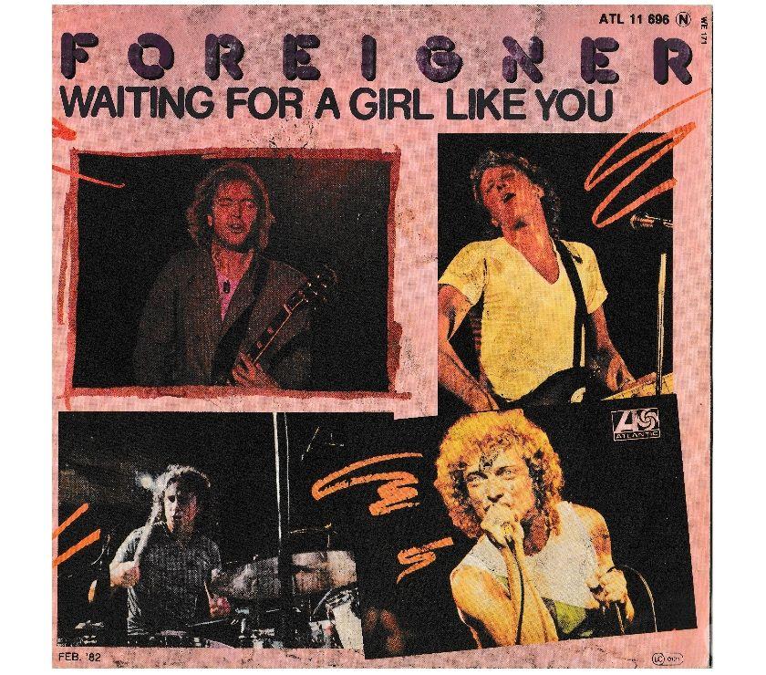 compact disc dvd e videogames Palermo e provincia Palermo - Foto di Vivastreet.it FOREIGNER - Waiting For a Girl Like You - '7 45 giri 1982