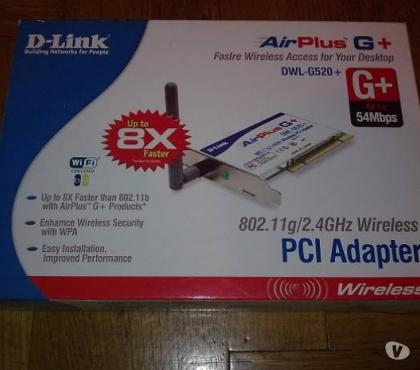 Foto di Vivastreet.it scheda di rete D-Link DWL-G520+ Wireless PCI Adapter