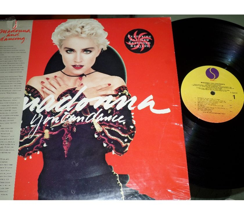 compact disc dvd e videogames Palermo e provincia Palermo - Foto di Vivastreet.it MADONNA - You Can Dance - Extended Remixes OBI LP 33 giri