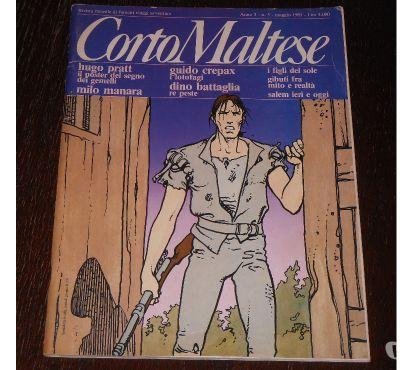 Foto di Vivastreet.it CORTO MALTESE Anno 3 - n. 5, Maggio 1985, PRATT, MANARA, CRE