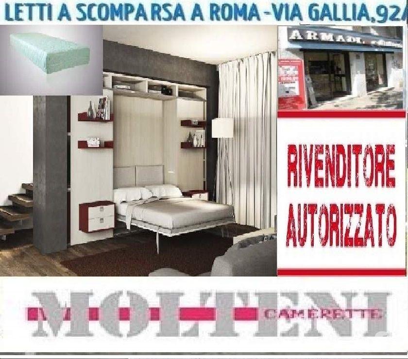 Materasso Per Letto A Scomparsa.Letto A Scomparsa System 2 Liveg06 Materasso Memory Crs Lett In