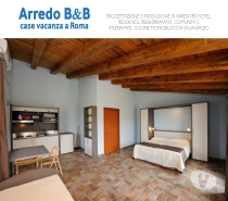 Foto di Vivastreet.it ARREDO BED AND BREAKFAST A ROMA- VIA ANAGNI,130-ARREDO B&B