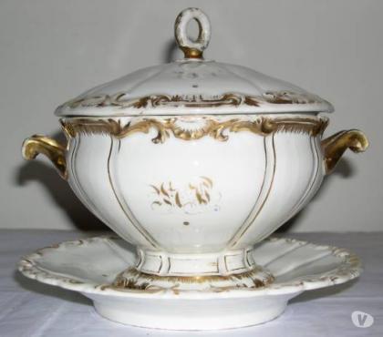 Foto di Vivastreet.it Zuppiera ceramica antica, decorazioni in oro