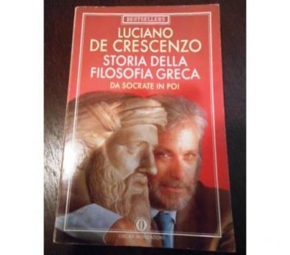 Foto di Vivastreet.it STORIA DELLA FILOSOFIA GRECA, LUCIANO DE CRESCENZO, 1997.