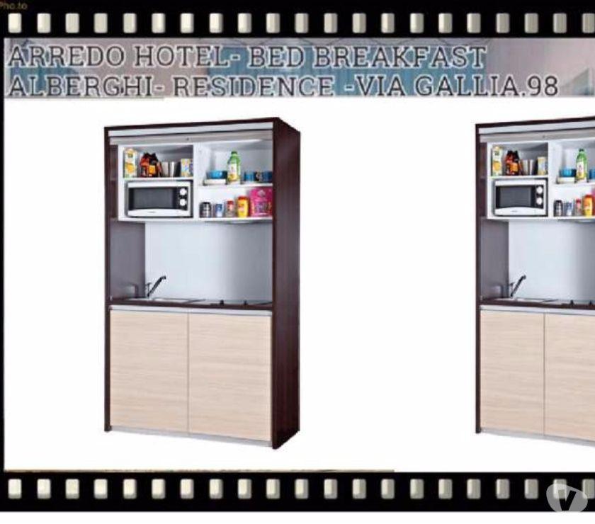 Cucina monoblocco a scomparsa 128 cm BILLY in vendita Roma - Vendita ...