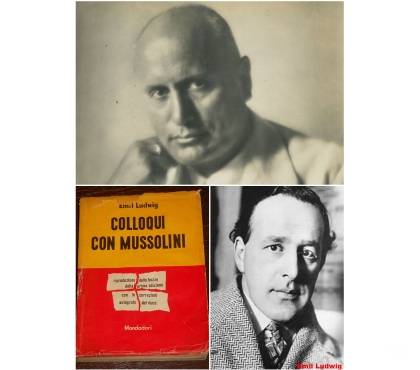 Foto di Vivastreet.it COLLOQUI CON MUSSOLINI, Emil Ludwig, Mondadori 1950